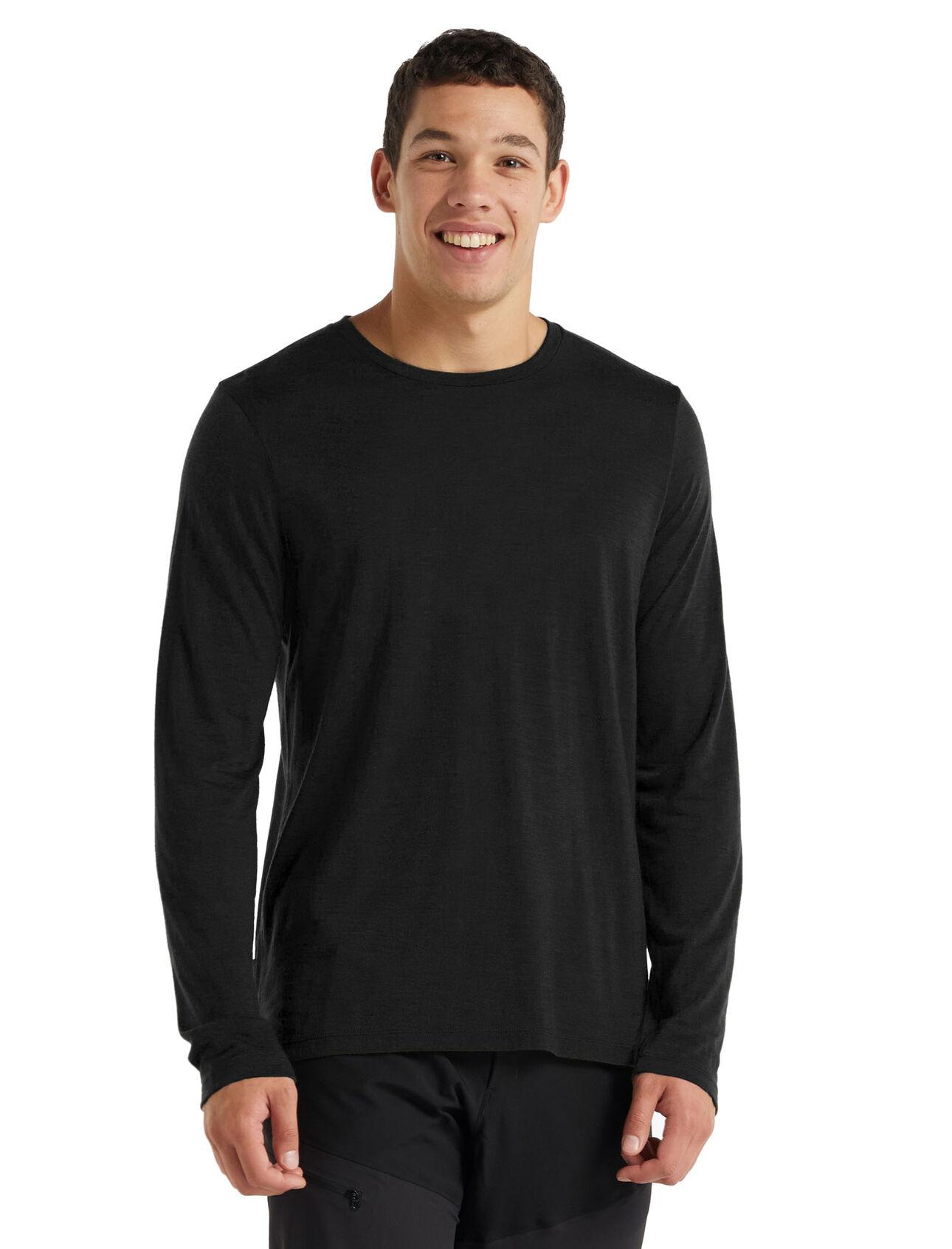 Cool-Lite™ Merino Sphere Long Sleeve Crewe T-Shirt