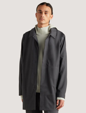 icebreaker City Label Cool-Lite™ Merino Travel Trench Coat