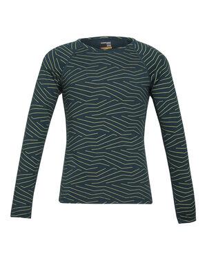 200 Oasis långärmad t-shirt Napasoq Lines med rund halsringning