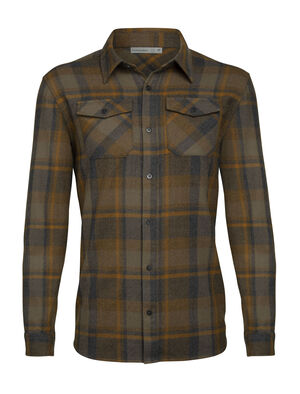Merino Lodge Long Sleeve Flannel Shirt