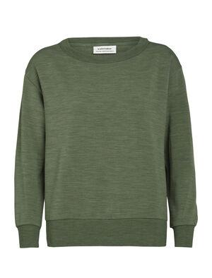 RealFleece® långärmad t-shirt med rund halsringning