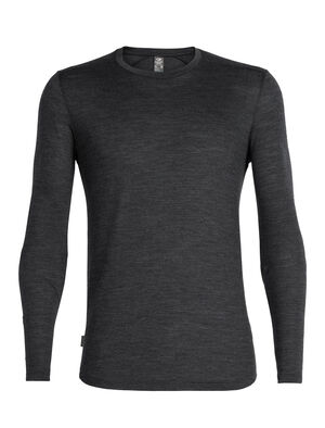 Mens Cool-Lite™ Merino Sphere Long Sleeve Crewe T-Shirt An ultralight T-shirt for warm-weather travels and everyday comfort, the Sphere Long Sleeve Crewe is made with our soft and durable 130gm Cool-Lite™ jersey fabric.