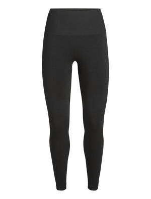 Womens Cool-Lite™ Merino Motion Seamless High Rise Tights  Form-fitting stretch tights ideal for gym training, the Motion Seamless High Rise Tights feature an innovative seam-free construction with incredible breathable Cool-Lite™ fabric.