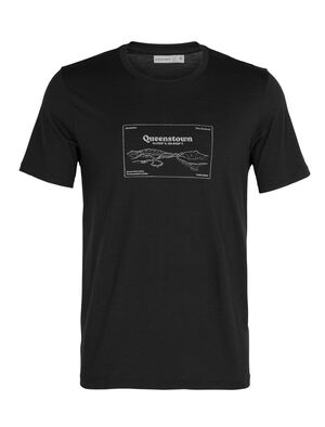 T-shirt manches courtes col rond mérinos Tech Lite Queenstown