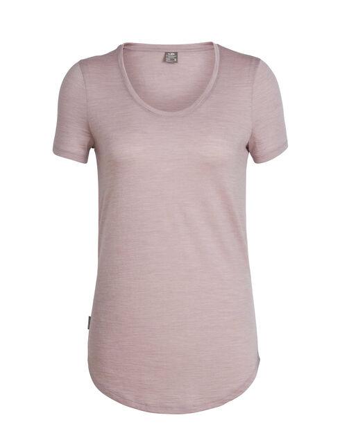 Cool-Lite™ Solace短袖低圆领上衣