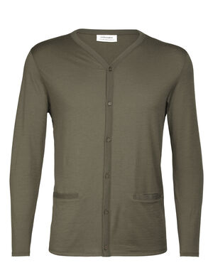 Mens Merino Oasis Cardigan  A classic button-up sweater made with our natural, 100% merino fabric, the Oasis Cardigan is lightweight, versatile, and stylish.