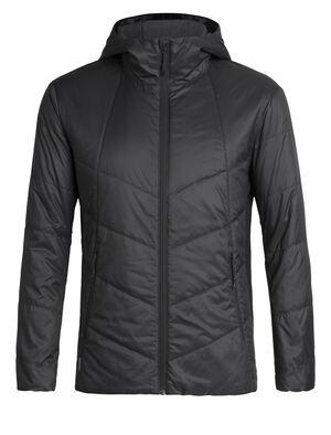 男款 MerinoLoft™ Helix带帽夹克 Helix男款带帽夹克以环保的美丽诺羊毛和再生材料制成,有效保暖,是冬季里日常百搭的中层单品。