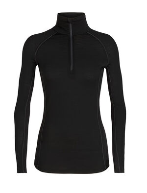 Womens BodyfitZONE™ 150 Zone Long Sleeve Half Zip A highly breathable, next-to-skin women's merino wool zip-neck base layer with strategically zoned panels of merino mesh for active ventilation, the 150 Zone Long Sleeve Half Zip features our stretchy and durable corespun fibers.