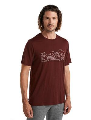 Merino Tech Lite II T-Shirt Combi Ski Trip