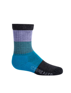 Merino Hike Light Crew Macro Stripe Socks