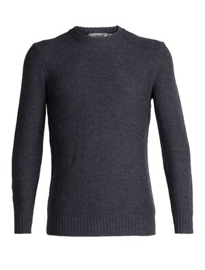 Mens Waypoint Crewe Sweater Chock full of pure winter style and made with 100% pure merino wool for breathability, warmth and incredible next-to-skin softness, the Waypoint Crewe Sweater is all about casual, cold-weather comfort.