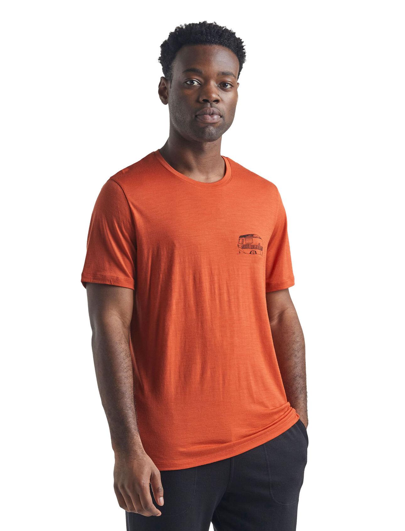 Merino Tech Lite Short Sleeve Crewe T-Shirt Caravan Life