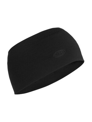 Unisex Merino Chase Headband  Made with soft, stretchy and highly breathable 200gm merino jersey fabric with a touch of LYCRA®, the Chase Headband is perfect for aerobic pursuits in cold conditions.