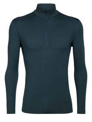 Mens Merino 260 Tech Long Sleeve Half Zip Thermal Top A warmer, midweight version of our best-selling Oasis, the 260 Tech Long Sleeve Half Zip is a go-to piece for winter layering, made with 100% merino wool.