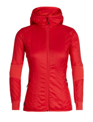 Womens MerinoLOFT™ Helix Long Sleeve Zip Hood Designed as an active alpine midlayer for cold, high-output days of skiing, climbing, snowshoeing or hiking, the Women's Helix Long Sleeve Zip Hood combines sustainable materials with a sculpted fit.