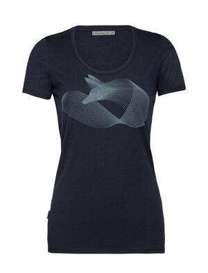 Merino Tech Lite Short Sleeve Scoop Neck T-Shirt Polar Fox