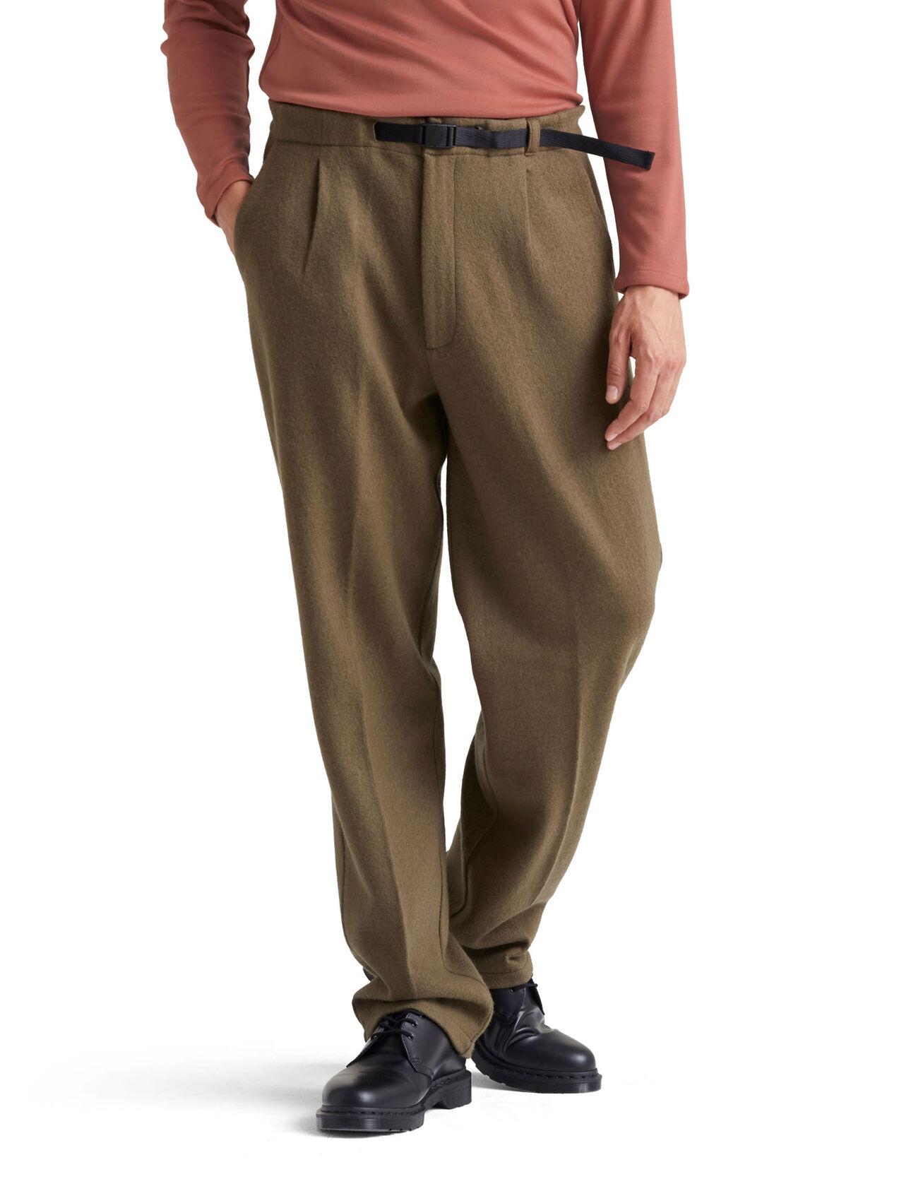 icebreaker x Goldwin合作款美丽诺羊毛长裤