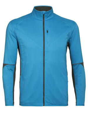 Mens Cool-Lite™ Merino Tech Trainer Hybrid Jacket Our technical mid layer jacket for active adventures and outdoor training, the Tech Trainer Hybrid Jacket combines a weather-resistant, stretch-woven outer shell with comfortable and highly breathable Cool-Lite™ fleece.