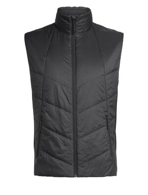 Mens MerinoLOFT™ Helix Vest An insulated men's vest made with sustainable merino wool and recycled materials, the Helix Vest is a warm winter mid layer for everyday versatility.