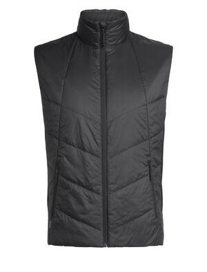 男款 Helix马甲 Helix马甲以环保的美丽诺羊毛和再生材料制成,有效保暖,是冬季里日常百搭的中层单品。