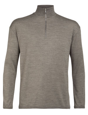 Merino Deice Long Sleeve Half Zip Top