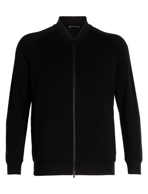 Unisex 旅 TABI RealFLEECE® Bomber Jacket A full-zip men's merino wool jacket that offers everyday casual comfort with sleek, modern aesthetics, the RealFLEECE® Jacket is inspire by the classic bomber jacket.