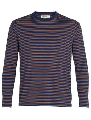 Merino 150 Long Sleeve Crewe Stripe T-Shirt