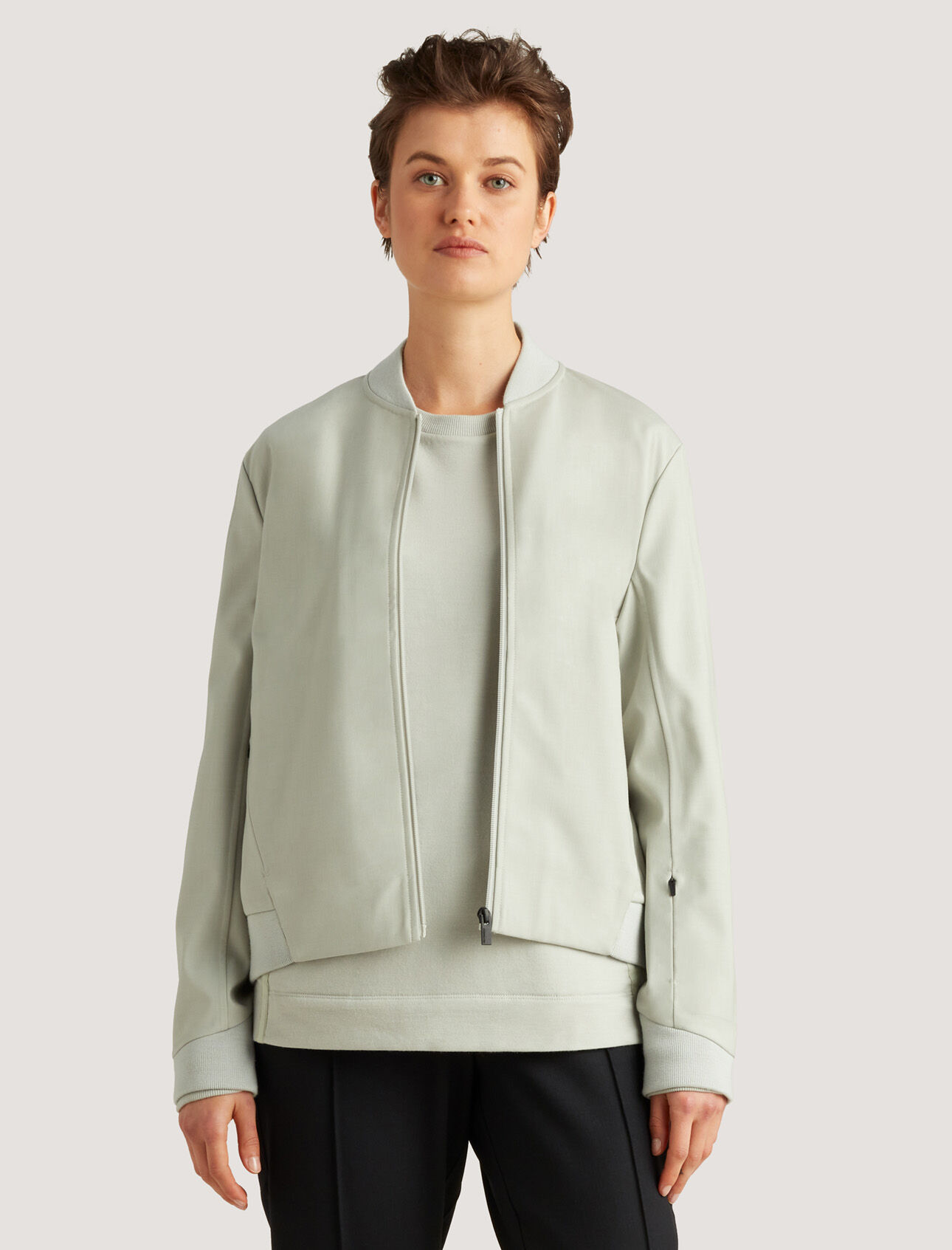 icebreaker City Label Cool-Lite™ Merino Bomber Jacket
