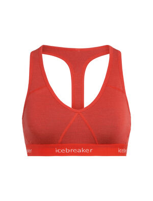 Womens Merino Sprite Racerback Bra  A breathable, supportive racerback bra made with durable and super-soft corespun merino blend fabric, the Sprite Racerback Bra allows for full range of motion and all-day comfort.