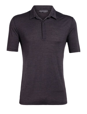 Nature Dye Merino Solace Short Sleeve Polo Shirt