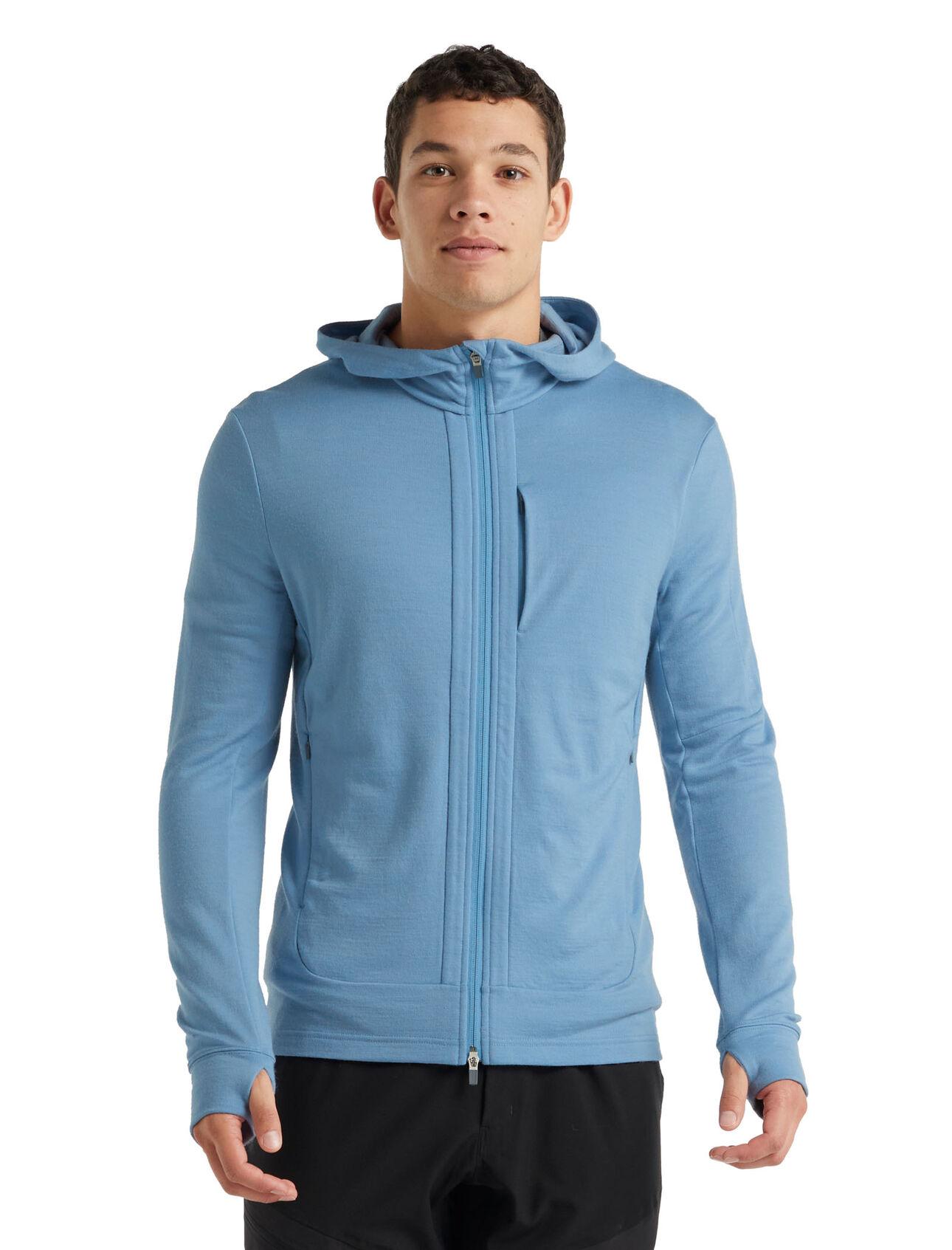 Merino Quantum III Long Sleeve Zip Hoodie