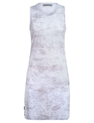Womens Cool-Lite™ Yanni Sleeveless Dress A light and stretchy women's dress made from cool-lite™ merino wool jersey fabric for soft comfort and durability, the Yanni Sleeveless Dress features a relaxed fit and a scoop neck design.