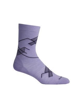 Merino Lifestyle Fine Gauge Crew Socks Snap Head