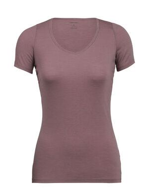 Damen Siren Short Sleeve Sweetheart Ein weiches und elastisches T-Shirt für täglichen Tragekomfort und einfaches Layering, das Siren T-Shirt Sweetheart überzeugt durch eine schlanke Passform und unser Corespun-Merinojersey.
