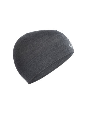 Unisex Merino Chase Beanie  Made with soft, stretchy and highly breathable 200gm merino jersey fabric with a touch of LYCRA®, the Chase Beanie is perfect for aerobic pursuits in cold conditions.