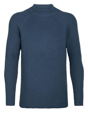 男款 Hillock漏斗领针织衫 Hillock漏斗领针织衫集100%美丽诺羊毛的天然优点于一身,以有型针织衫搭配高领设计,为您在冷天额外保暖。