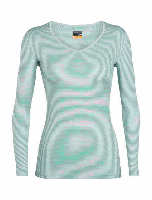 Women's 200 Oasis Long Sleeve V
