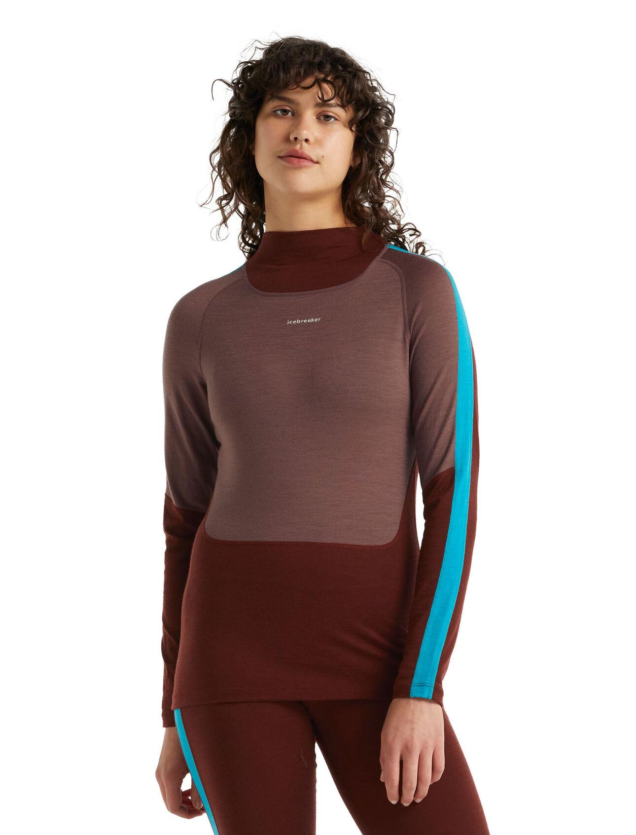 Merino 200 Sonebula Long Sleeve High Neck Thermal Top