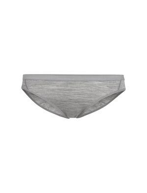 Femme Siren Bikini Sous-vêtement à coupe ajustée moderne en laine mérinos douce et extensible, la culotte bikini Siren est faite en tissu corespun qui est incroyablement doux et résistant.