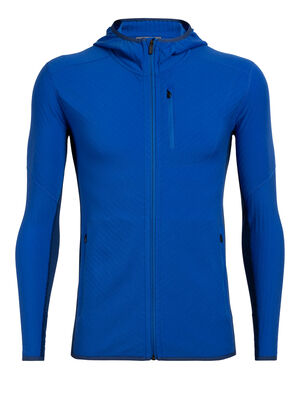 RealFLEECE® Descender Long Sleeve Zip Hood