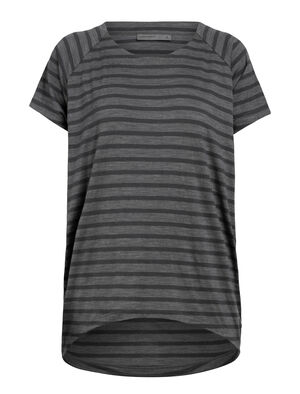 Womens Cool-Lite™ Elowen Short Sleeve Crewe A go-anywhere women's merino tee, the Elowen combines the odor-resistant comfort of merino wool with our cool-lite™ fabric to keep you comfortable in hot weather.