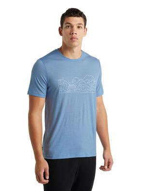 Merino Tech Lite II Short Sleeve T-Shirt Combi Ski Trip