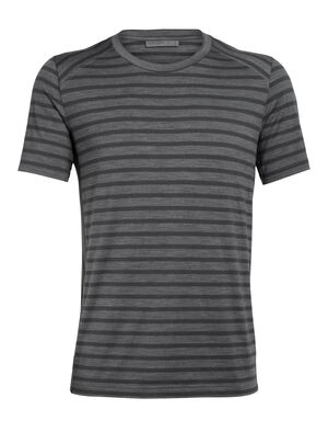 Mens Cool-Lite™ Elowen Short Sleeve Crewe A go-anywhere men's merino tee, the Elowen combines the odor-resistant comfort of merino wool with our cool-lite™ fabric to keep you comfortable in hot weather.