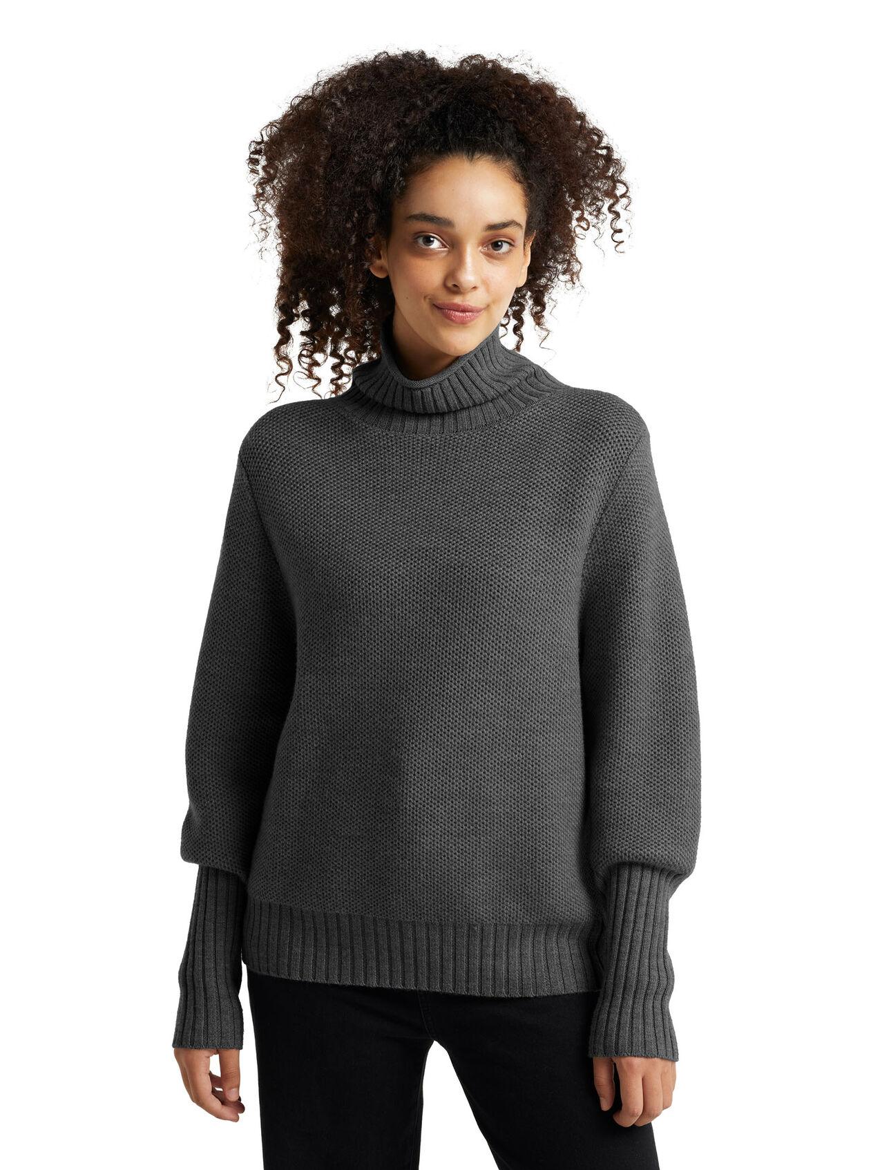 Merino Seevista Funnel Neck Sweater