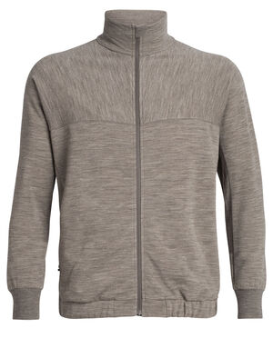 Mens 旅 TABI RealFLEECE®  Blouson A classic men's merino wool full-zip sweatshirt, the RealFleece Blouson is part of the TABI collection, a collaboration with Japanese apparel house Goldwin.