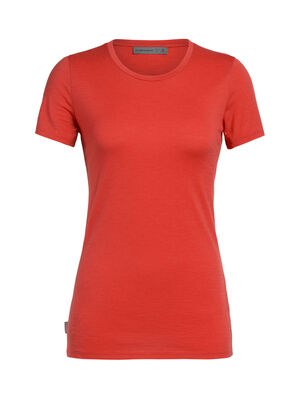 Womens Tech Lite Short Sleeve Low Crewe A lightweight women's short-sleeve T-shirt that makes an ideal base layer or go-to everyday top, the Tech Lite Short Sleeve Low Crewe features corespun merino wool jersey fabric for durable comfort and performance.