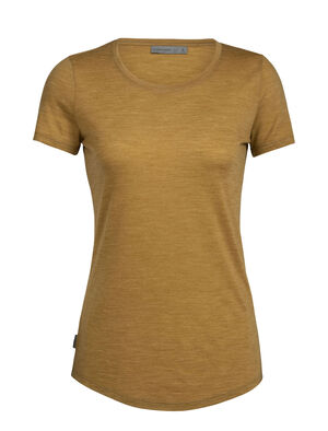 Cool-Lite™ Sphere T-shirt met korte mouwen en lage ronde hals