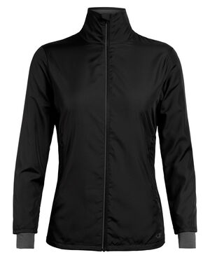 Womens Cool-Lite™ Merino Rush Windbreaker Jacket A lightweight and weather-resistant women's jacket with a technical design and merino wool content, the Rush Windbreaker sheds light weather while actively wicking moisture.