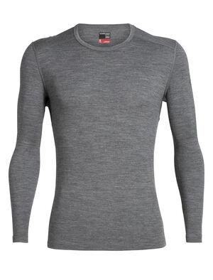 Homme 260 Tech Long Sleeve Crewe Le t-shirt manches longues col rond 260 Tech est une couche de base à grammage intermédiaire un peu plus chaude que notre Oasis; entièrement en mérinos, c'est le vêtement idéal lorsqu'il fait froid.
