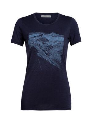 Merino Tech Lite kurzärmliges T-Shirt PCT Sketchbook
